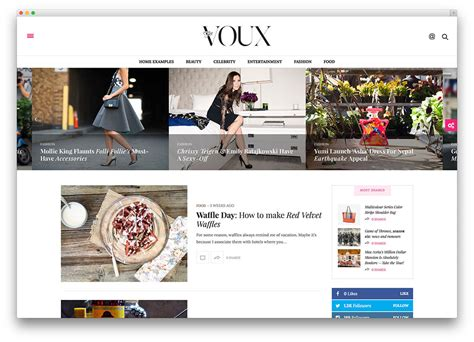 fashion blog magazine ecommerce  photography