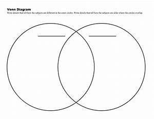 Venn Diagram In Word And Pdf Formats