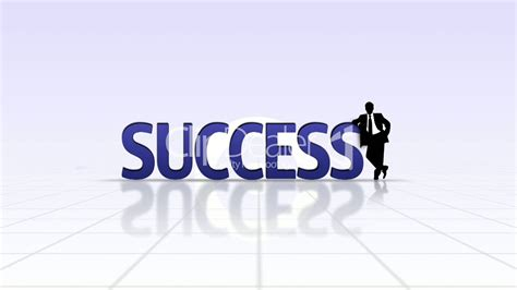 Success Text Background - HD1080: Royalty-free video and ...