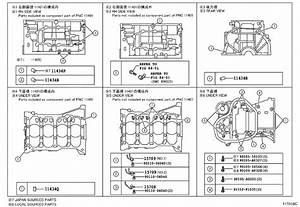 2013 Toyota Camry Spacer  Cylinder Block Water Jacket