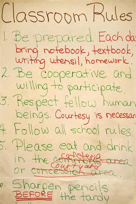 classroom discipline starts  classroom management