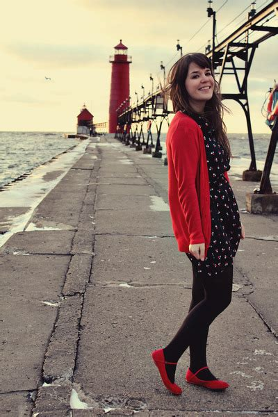 Red Blowfish Shoes Flats Black Modcloth Dresses Red Limited Cardigans   u0026quot;hometown lighthouse ...