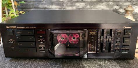 Nakamichi Rx 202 Cassette Deck by Nakamichi Rx 202e Auto Cassette Deck Catawiki