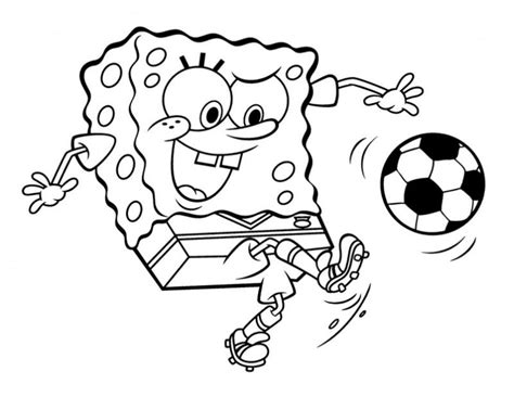 Square Pants Colouring Pages