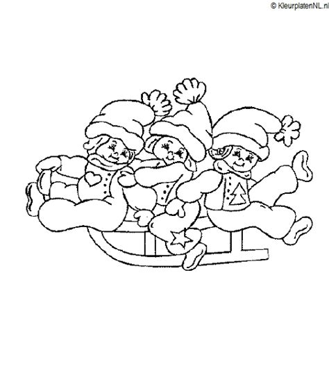 Disney Kleurplaat Winter by Winter Kleurplaat Kleurplaten 3917 Kleurplaat Kleuren Net