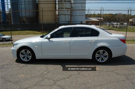 2010 Bmw 528i Bmw Car With Fully Transferrable White