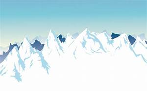 Snow Mountain background | AI format free vector download ...