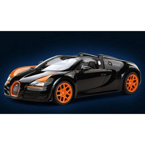 This car demonstrates that it is possible to create a roadster version of a supercar with unrivaled performance that is not only incredibly fast and dynamic, but also extremely comfortable and safe to. 1/14 Scale Bugatti Veyron 16.4 Grand Sport Vitesse Radio Remote Control Model RC Car (Black ...