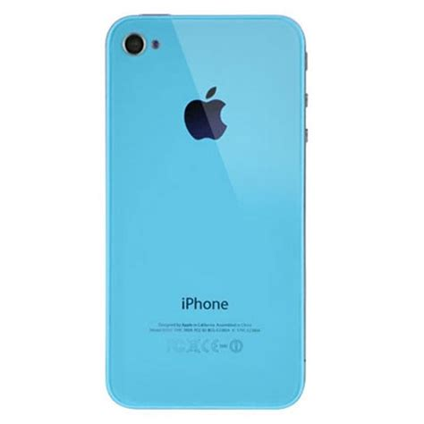 iphone back iphone 4 back cover baby blue