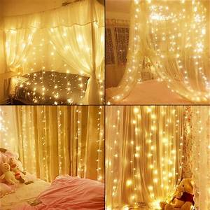 Led, Window, Curtain, String, Lights, For, Home, Decor