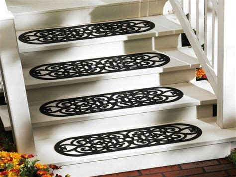 Outdoor Rubber Stair Treads Round Nose ? Railing Stairs