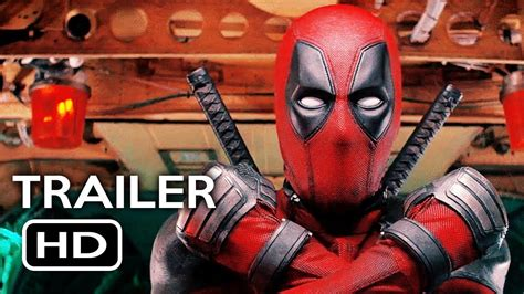 Deadpool 2 Official Trailer #1 (2018) Ryan Reynolds Marvel