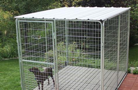 basic corrugated yard kennel metal top dog kennel roof dog kennel dog kennel outdoor