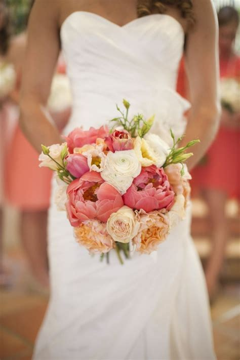 94 Best Images About Coral Navy Blue Wedding Flowers On