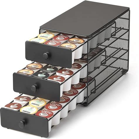 Coffee pods are a great way to. 3-tier Large Capacity Coffee Pod Storage Drawer for K-Cup Pods. 54 Pod Capacity | eBay