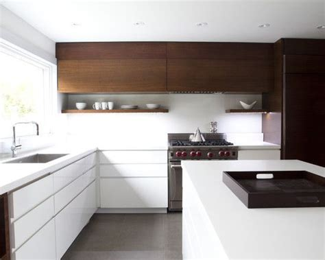 Timber Cupboards by The Chestnuts 11 White Timber Black And Concrete