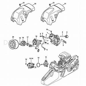 Stihl Ms 251 Chainsaw  Ms251 Z  Parts Diagram  Air Baffle
