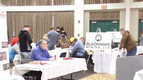 logan job fair offering  opportunities  coal miners