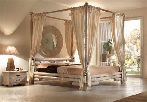 chambre en bambou lit tabanan à baldaquin bb190 ae 2