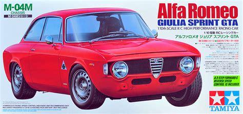 Tamiya Alfa Romeo Giulia Sprint Gta (1996) Rcgrabbagcom
