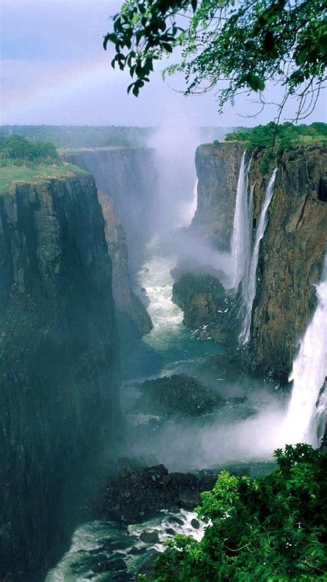 desktop wallpapers waterfalls  rainbow  images