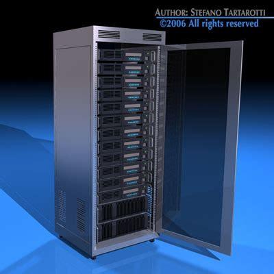 server rack  model