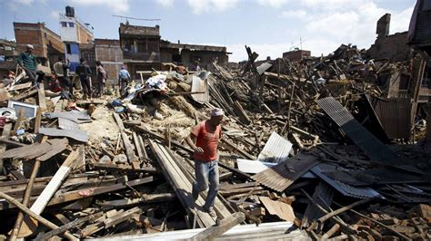 Recent Earthquake in Nepal