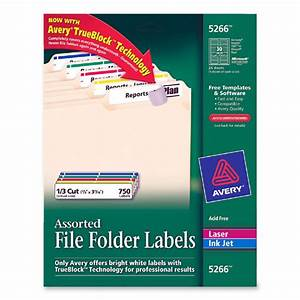 Printer for Avery file labels 5266 template