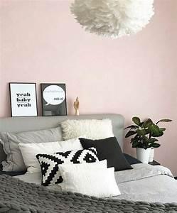Schlafzimmer Rosa Grau : die besten 25 rosa schlafzimmer ideen auf pinterest rosa schlafzimmer dekor rosa graue ~ Frokenaadalensverden.com Haus und Dekorationen