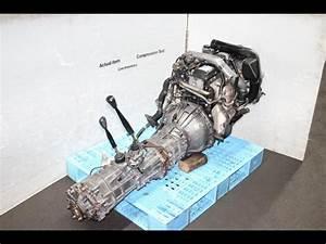 Toyota Land Cruiser Prado 1kz 3 0l Tubro Diesel Moteur Awd Manual Transmission Ecu Jdm 1kz