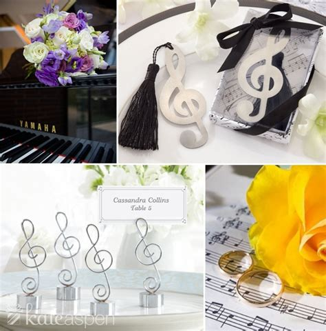 Your Love In Perfect Harmony—a Music Theme Wedding Kate
