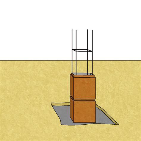 monter un pilier de portail conseil bricolage avec bricopro