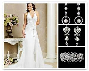 stress away bridal jewelry boutique jewelry ideas for With earrings for wedding dress