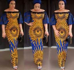 Ankara Gown Style for Ladies