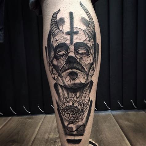 Excellent Blackwork Tattoo  Tats, Art And General Shit