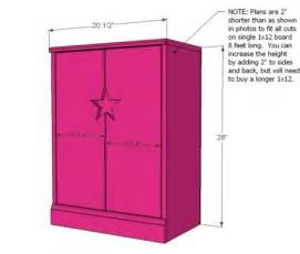 Doll Armoire Plans by Ana White Build A Star Doll Closet For American Girl Or