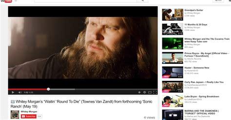 Watch Whitey Morgan's Deathly Cover Of Townes Van Zandt