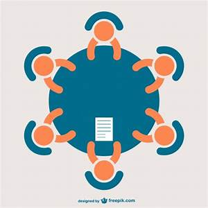 Business meeting icon Vector | Free Download