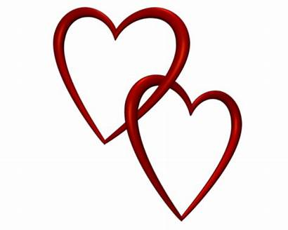 Double Clip Hearts Heart Clipart Cliparts Attribution