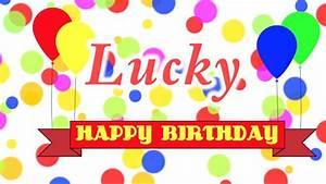 Happy Birthday Lucky Song - YouTube
