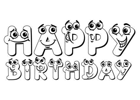 Gefeliciteerd Letters Kleurplaat by Kleuren Nu Happy Birthday Kleurplaten