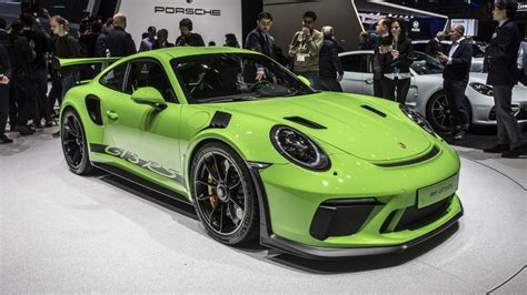 2019 Porsche Gt3 Rs by 2019 Porsche 911 Gt3 Rs Revealed With 520 Horsepower Non