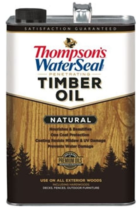 thompsons waterseal penetrating timber oil australian