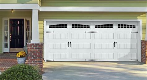 carriage garage doors carriage house doors installation in lino lakes white