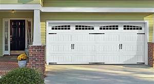 Carriage house doors installation in lino lakes white for Carriage style garage doors with windows
