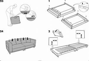Ikea Tylasand Sofa Bed Cover Assembly Instruction