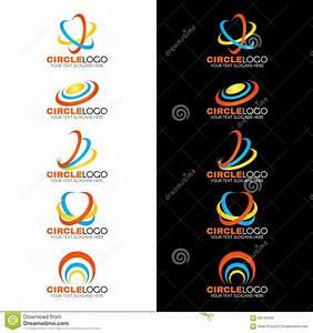 Yellow Blue Orange Circle Wave Line Logo Vector Design ...