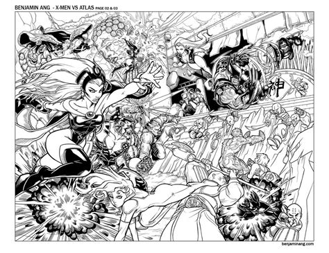 X Men Coloring Pages To Download And Print For Free