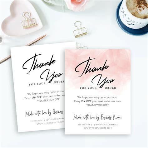 template pink watercolor card printable