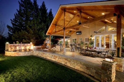 Covered Outdoor Living Spaces Ideas (covered Outdoor